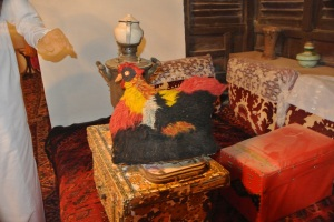The most wonderful tea cosy in the Jeddah house