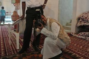 Photo of one photographer
