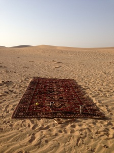 A magic carpet?